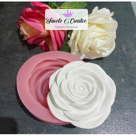 STAMPO ROSA 3D silicone X...