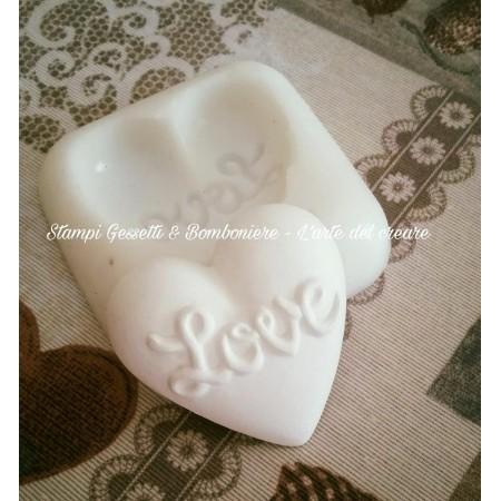 Stampo CUORE LOVE stampo...